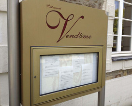 Meal at Vendome