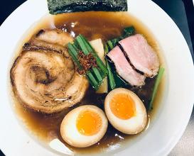 Dinner at MENSHO TOKYO