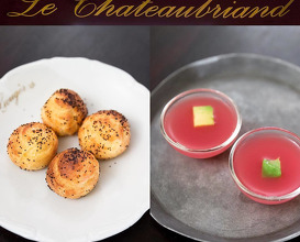 Dinner at Le Chateaubriand