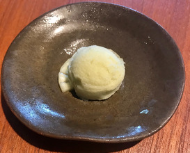 Sorbet of Cardamon and Pineapple