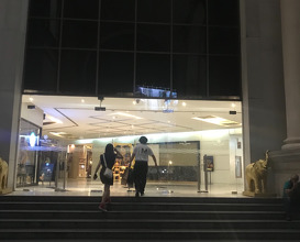 Lobby and entrance