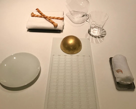 The setting of the table