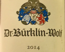 Pinot Noir, Dr Burkling-Wolf 2014