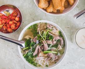 Dinner at Phở gà Châm