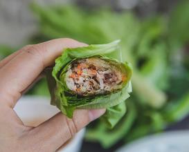 Dinner at Bánh Xèo 46A Đinh Công Tráng