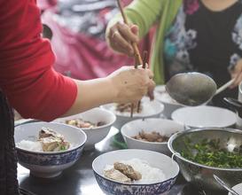 Dinner at QUÁN CẨM - Bún Bò Huế - 45 Lê Lợi, Huế