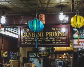 Dinner at Bánh Mi Phương