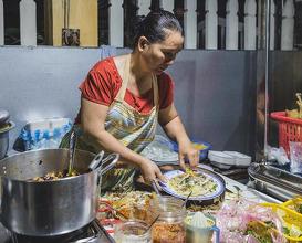 Dinner at Quán Cơm Gà An Hiền
