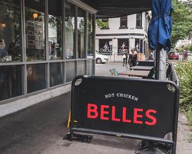 Dinner at Belles Hot Chicken