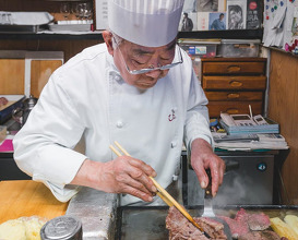 Dinner at ひよこ