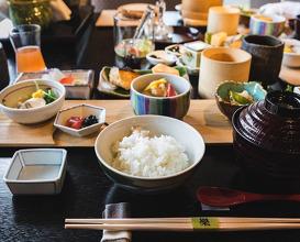 Dinner at リバーリトリート雅樂倶   River Retreat Garaku