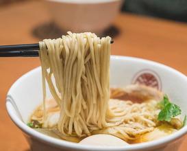 Dinner at らぁ麺とうひち(藤七)