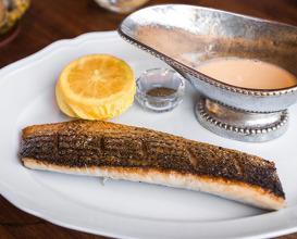 Dinner at Angler San Francisco
