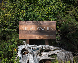 Dinner at Willows Inn on Lummi Island