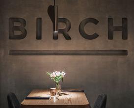 Dinner at Birch restaurant