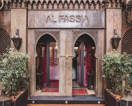 Dinner at Al Fassia