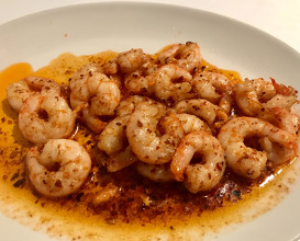 Shrimp sautéed with Hot Chilli Sauce & Butter