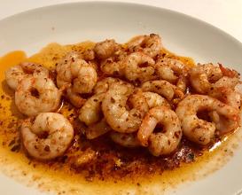 Shrimp sautéed with Hot Chilli Sauce & Butter