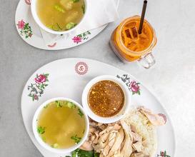 Dinner at Nong's Khao Man Gai
