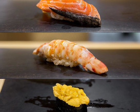 Dinner at 鮨はしもと