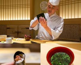 Dinner at 鮨さいとう