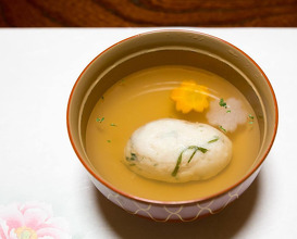 Dinner at 山の茶屋