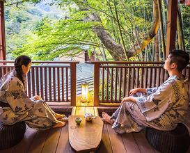 Dinner at 温泉宿山の茶屋