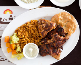 Dinner at Abou Shakra