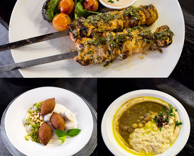 Dinner at Rola Levantine kitchen