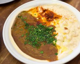 Dinner at עלי קרואן חומוס אבו חסן יפו