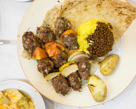 Dinner at מסעדת דיאנא مطعم ديانا Diana Restaurant