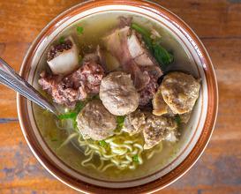 Dinner at Mie Ayam Bakso Idola