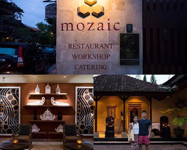 Dinner at Mozaic Restaurant