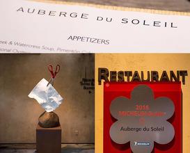Dinner at Auberge du Soleil
