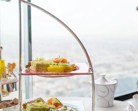 Dinner at Skyview Bar, Burj Al Arab