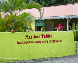 Dinner at Martha's Tables