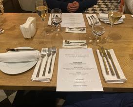 Dinner at Restaurant Ahora