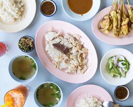 Dinner at Kiat Ocha Chicken Riceamphur Muang Chiangmai