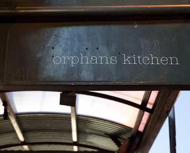 Dinner at Orphans kitchen
