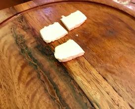Fresh kashkaval cheese