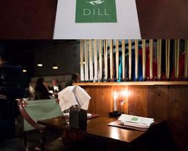 Dinner at DILL Restaurant Reykjavik