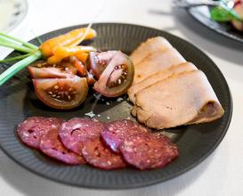 Dinner at Henne Kirkeby Kro