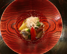 浸し物 15種類の季節野菜のおひたし
