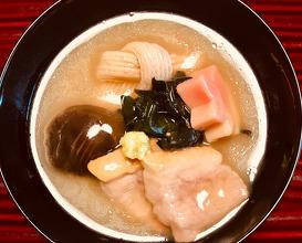 煮物 Stewed dish 《加賀名物》鴨の治部煮 Duck stew with Kanazawa tradition
