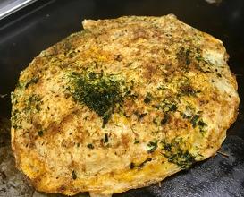 Okonomiyaki Just with vegetables