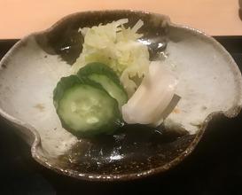 Dinner at Tempura Niitome (天風良 にい留)
