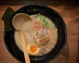 Dinner at Shoryu Ramen
