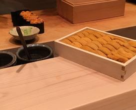Dinner at Sushi Shikon