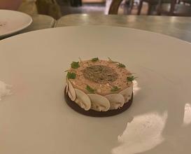Foie gras and chicken pate