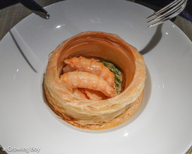 Birthday dinner at Épure